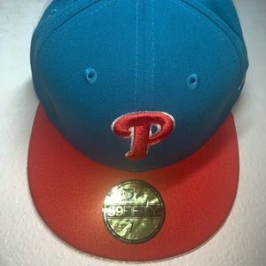 Philadelphia Phillies fitted hat.